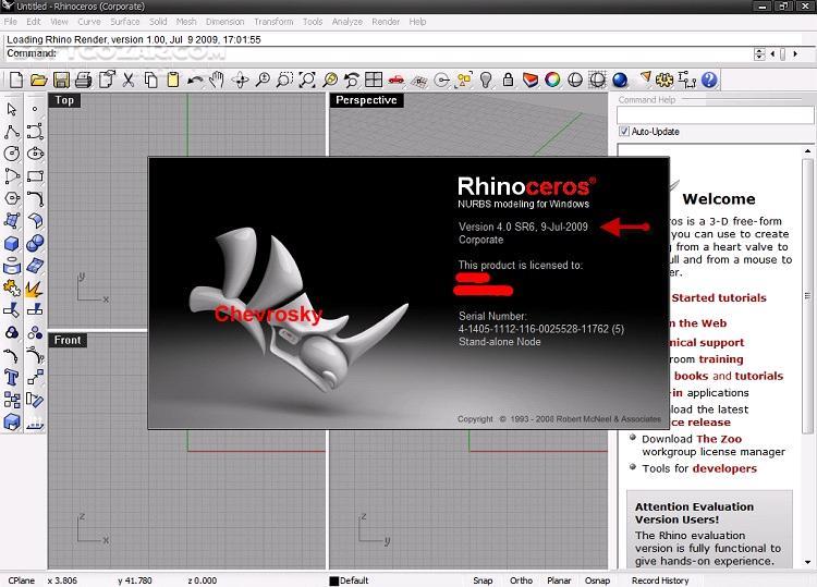 Rhinoceros (Rhino) 7 0 19009 12085 6 13 19058 00371 v5 RS14 RS10 WIP Plugins macOS تصاویر نرم افزار  - سافت گذر