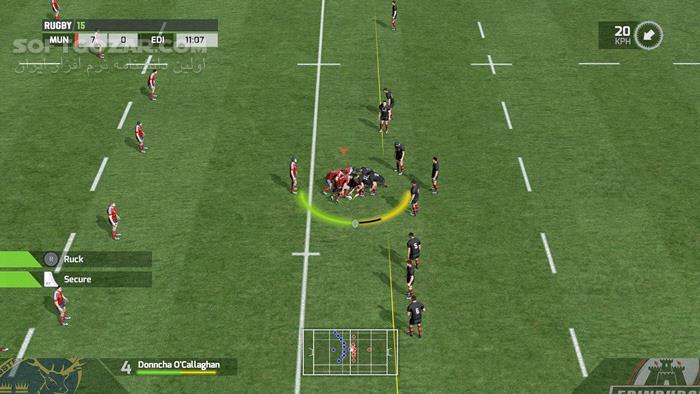 Rugby 15 تصاویر نرم افزار  - سافت گذر