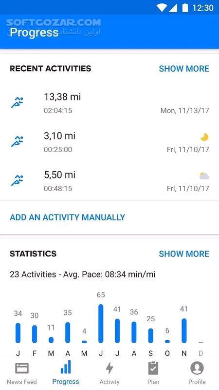 Runtastic PRO Running, Fitness 9 0 for Android 4 1 تصاویر نرم افزار  - سافت گذر