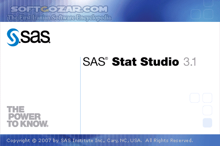 SAS 9 4 M3 x64 Portable 9 1 3 SP4 تصاویر نرم افزار  - سافت گذر