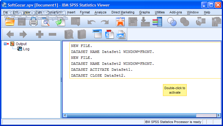 IBM SPSS Statistics 26 0 IF006 25 0 HF001 Win Mac Linux تصاویر نرم افزار  - سافت گذر
