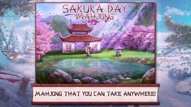 Sakura Day Mahjong تصاویر نرم افزار  - سافت گذر