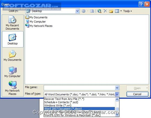 Microsoft Office Compatibility Pack for Word, Excel, and PowerPoint 2007 File Formats 4 تصاویر نرم افزار  - سافت گذر