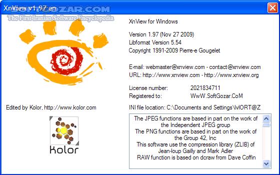 XnView 2 49 2 Complete Portable XnViewMP 0 94 3 تصاویر نرم افزار  - سافت گذر