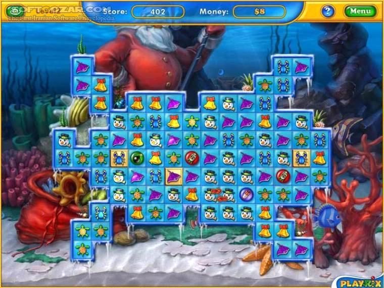 Fishdom Frosty Splash تصاویر نرم افزار  - سافت گذر