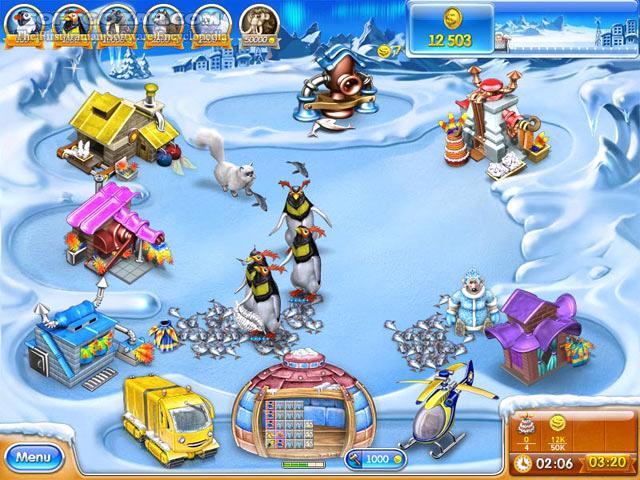 Farm Frenzy 3 Ice Age تصاویر نرم افزار  - سافت گذر