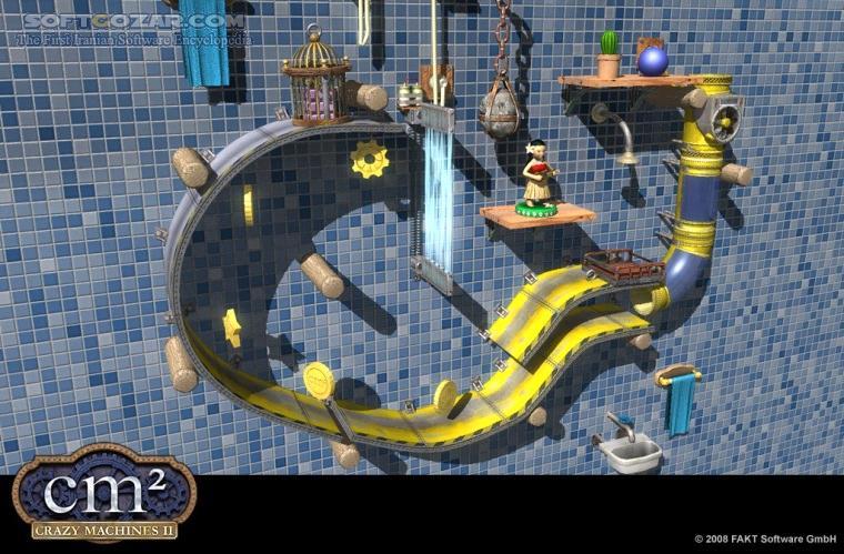 Crazy Machines 2 Complete تصاویر نرم افزار  - سافت گذر