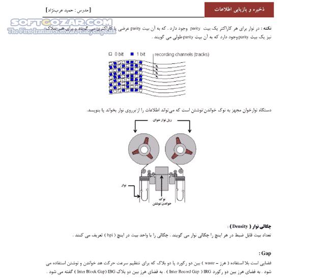 ذخیره و بازیابی اطلاعات تصاویر نرم افزار  - سافت گذر