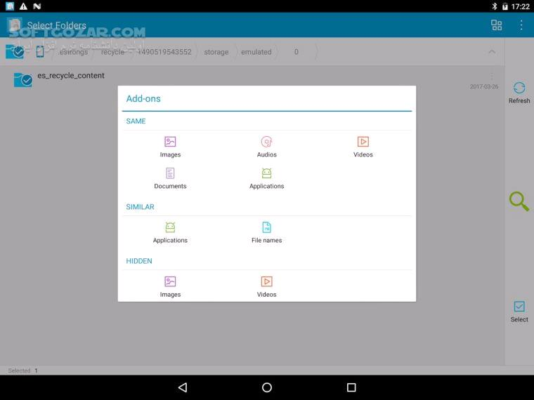 Search Duplicate File 4 100 for Android 2 2 3 تصاویر نرم افزار  - سافت گذر