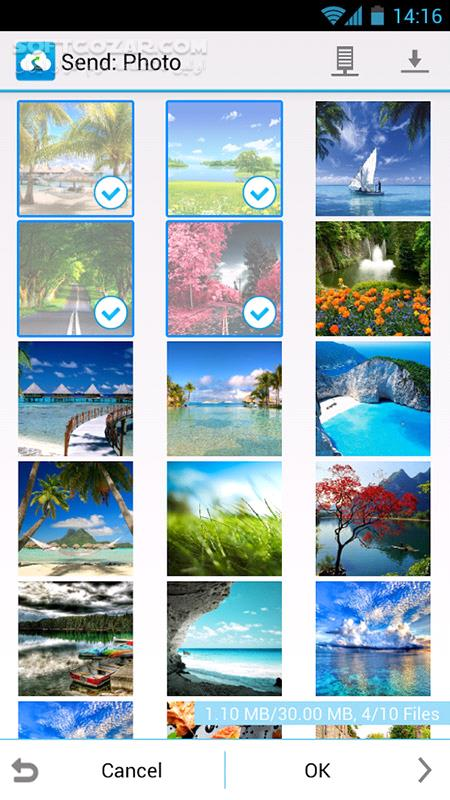 Send Anywhere PRO 9 4 18 for Android 4 0 تصاویر نرم افزار  - سافت گذر