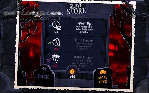 Shoot The Zombirds 1 14 for Android 2 3 تصاویر نرم افزار  - سافت گذر
