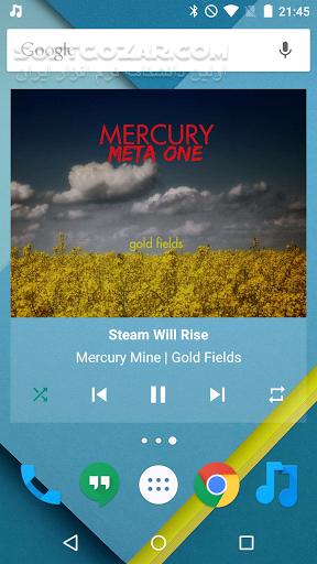 Shuttle Music Player 2 0 13 for Android 4 1 تصاویر نرم افزار  - سافت گذر