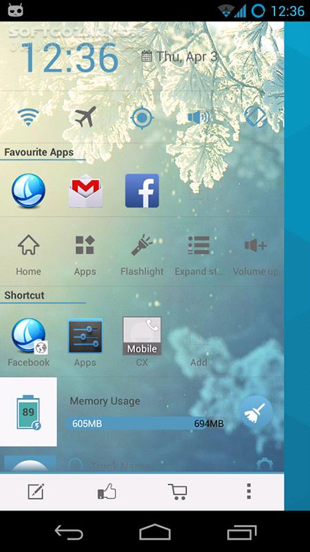 Sidebar Launcher Pro 3 4 3 for Android 2 3 تصاویر نرم افزار  - سافت گذر