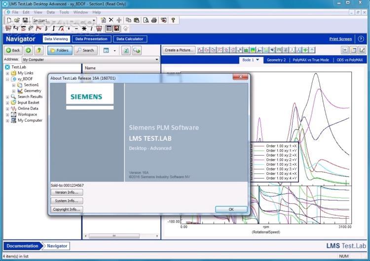 Siemens LMS Test Lab 17A تصاویر نرم افزار  - سافت گذر