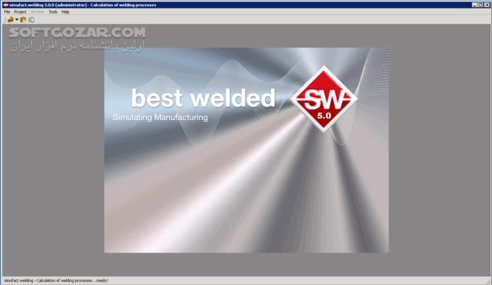 Simufact Welding 6 0 MSC Simufact Forming 16 0 تصاویر نرم افزار  - سافت گذر