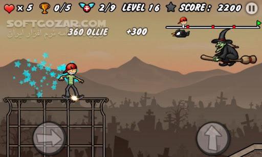 Skater Boy 1 8 for Android 2 3 تصاویر نرم افزار  - سافت گذر