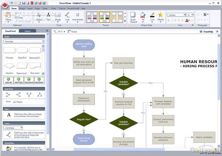 SmartDraw 2013 Enterprise x86 x64 تصاویر نرم افزار  - سافت گذر