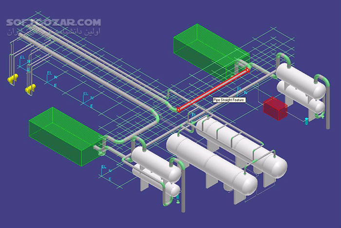 Intergraph SmartPlant 3D 2011 R1 Crack Video Tutorial تصاویر نرم افزار  - سافت گذر