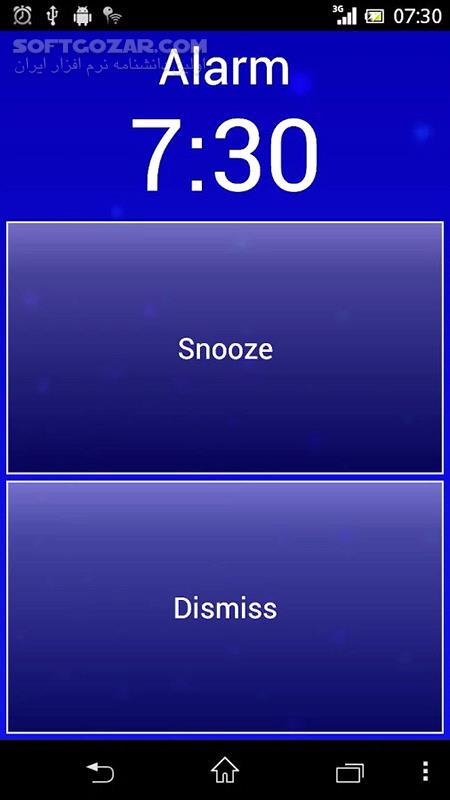 Smart Alarm 2 2 3 for Android 2 1 تصاویر نرم افزار  - سافت گذر