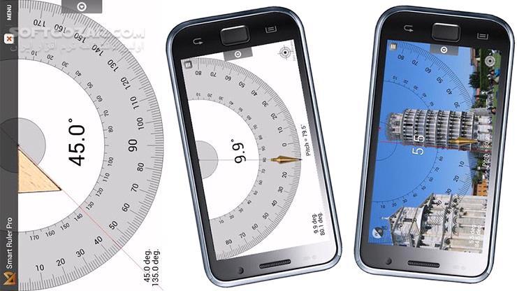Smart Ruler Pro 2 6 4 for Android 2 2 تصاویر نرم افزار  - سافت گذر