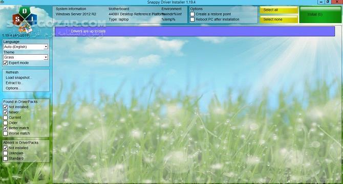 Snappy Driver Installer 1 21 2 DriverPacks 21 04 3 تصاویر نرم افزار  - سافت گذر