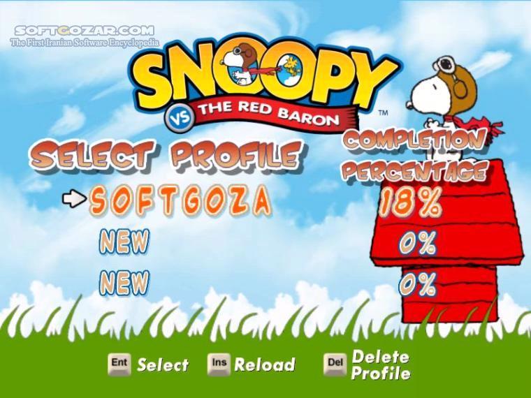 Snoopy vs the Red Baron تصاویر نرم افزار  - سافت گذر