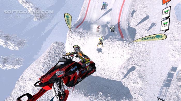 Snow Moto Racing Freedom تصاویر نرم افزار  - سافت گذر