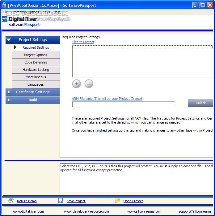 SoftwarePassport Armadillo Professional 9 64 تصاویر نرم افزار  - سافت گذر