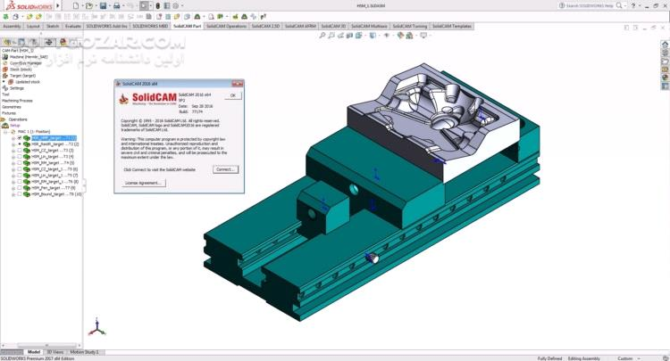 SolidCAM 2018 SP2 HF7 for SolidWorks x64 2019 SP0 تصاویر نرم افزار  - سافت گذر