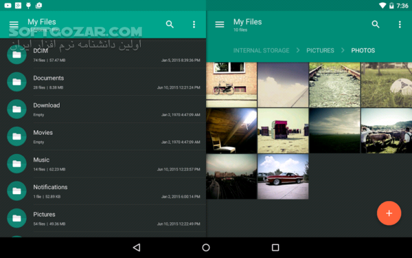 Solid Explorer 2 7 5 for Android 4 1 تصاویر نرم افزار  - سافت گذر
