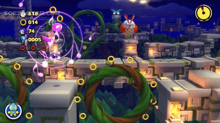 Sonic Lost World تصاویر نرم افزار  - سافت گذر