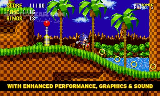Sonic The Hedgehog 2 1 1 2 v 3 1 5 4 Episode I 2 0 for Android 2 3 تصاویر نرم افزار  - سافت گذر