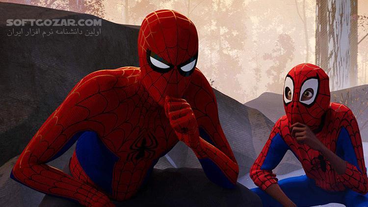 Spider Man Into the Spider Verse تصاویر نرم افزار  - سافت گذر