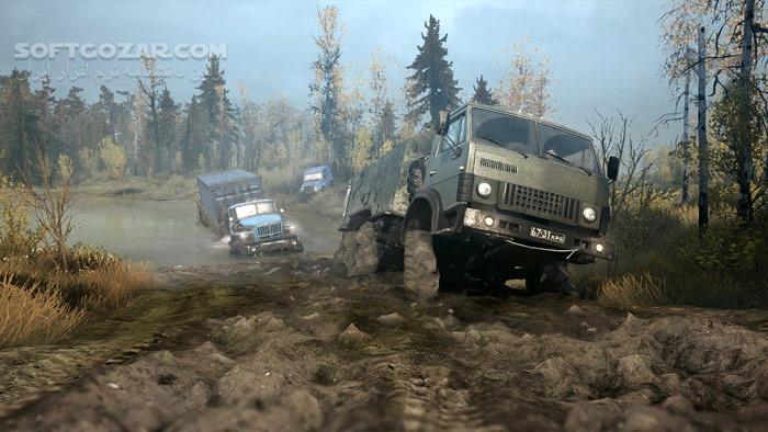 Spintires MudRunner The Valley DLC تصاویر نرم افزار  - سافت گذر
