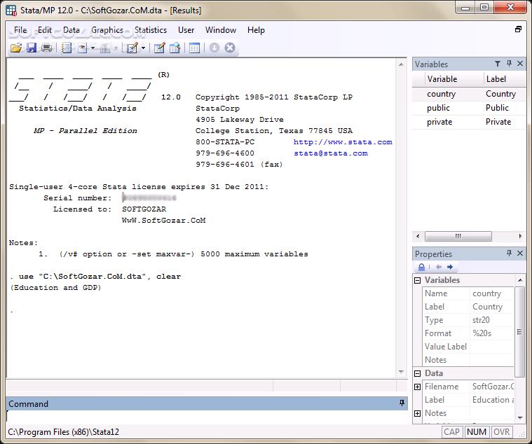 StataCorp StataMP 15 1 14 2 Revision Portable تصاویر نرم افزار  - سافت گذر