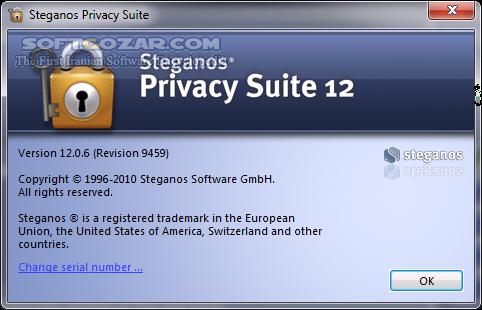 Steganos Privacy Suite 20 0 9 Rev 12495 تصاویر نرم افزار  - سافت گذر