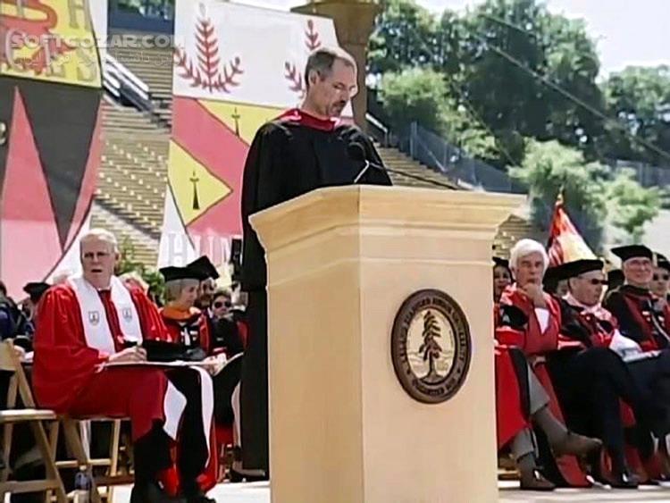 آخرین سخنرانی استیو جابز در دانشگاه استنفورد با زیرنویس و دوبله فارسی تصاویر نرم افزار  - سافت گذر