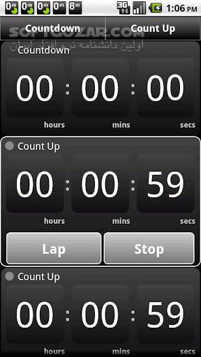 StopWatch Timer Plus 1 27 for Android 3 0 تصاویر نرم افزار  - سافت گذر