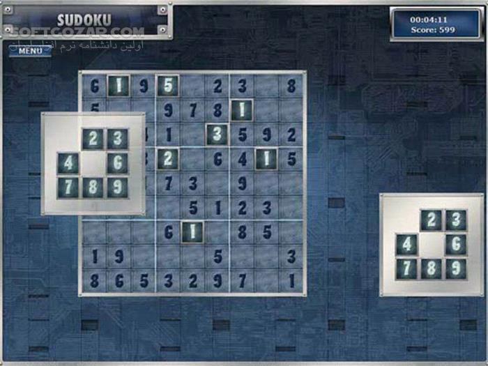 Sudoku v1 3 3 0 تصاویر نرم افزار  - سافت گذر