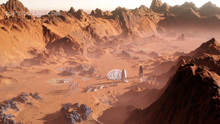 Surviving Mars تصاویر نرم افزار  - سافت گذر