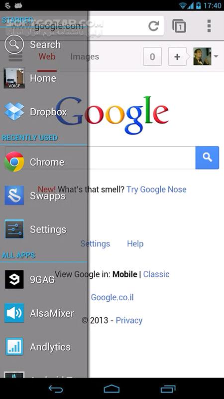 Swapps! All Apps, Everywhere 2 3 4 for Android تصاویر نرم افزار  - سافت گذر