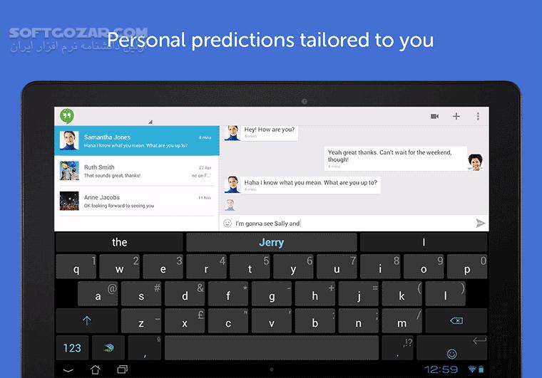SwiftKey Keyboard Emoji 7 3 6 16 Mod for Android 4 0 تصاویر نرم افزار  - سافت گذر