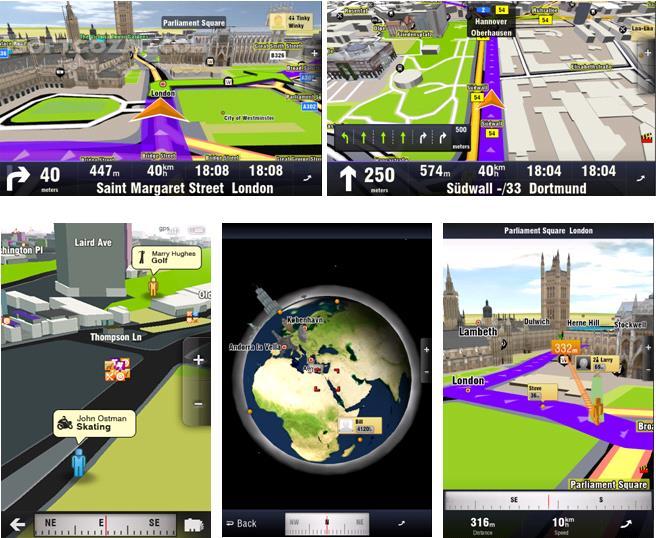 Sygic GPS Navigation 18 0 0 for Android 4 0 تصاویر نرم افزار  - سافت گذر