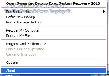 Veritas Backup Exec 20 3 1188 1863 x64 Win Linux Recovery Disk تصاویر نرم افزار  - سافت گذر