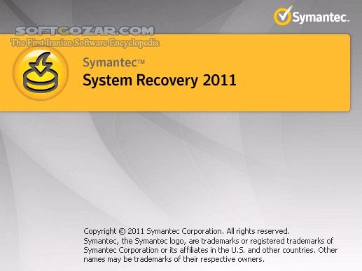 Symantec System Recovery Management Solution 2011 v10 0 1 41704 2013 R2 11 1 6 55604 Recovery Disk تصاویر نرم افزار  - سافت گذر