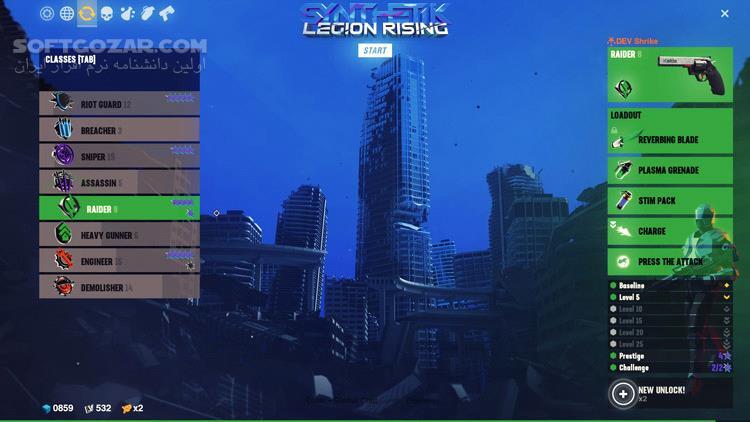 Synthetik Legion Rising The Red Guard تصاویر نرم افزار  - سافت گذر