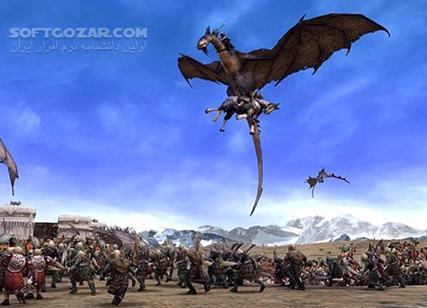 The Lord of the Rings The Battle for Middle earth II تصاویر نرم افزار  - سافت گذر