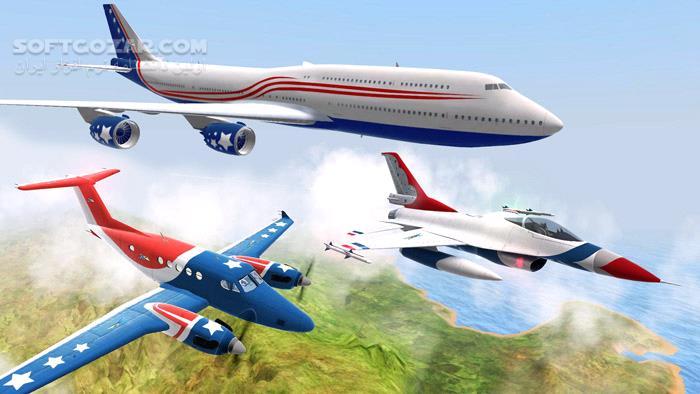 Take Off The Flight Simulator تصاویر نرم افزار  - سافت گذر