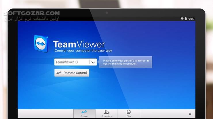 TeamViewer 15 0 13 QuickSupport 14 7 253 Host 14 7 240 for Android 4 0 تصاویر نرم افزار  - سافت گذر