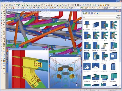 Tekla Structures 2019 SR1 2018 2017i SP2 تصاویر نرم افزار  - سافت گذر